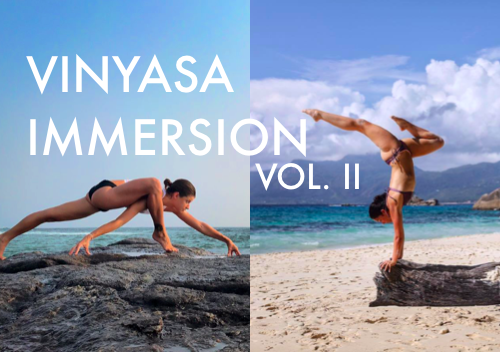 14.-16.9. Vinyasa Immersion vol. II with Adell Bridges & Klára Pokorná